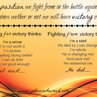 From Victory For Victory {Part 2}
