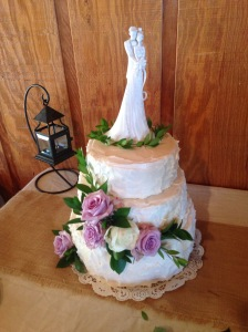 Wedding Cake - been a few years since I made one of these