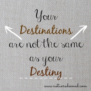 destiny vs destination