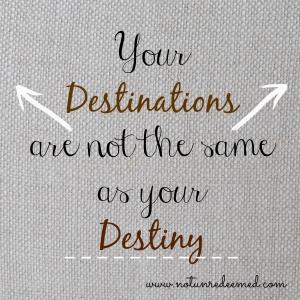 destiny vs destination