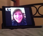 Bestie face time dates are the best!